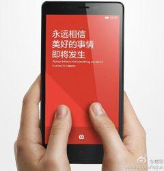 Redmi Note : La phablet Xiaomi est officielle ()