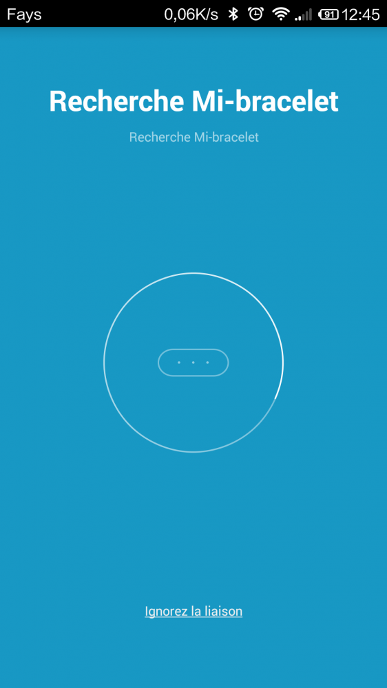 Télécharger la version Française de MiBand (Mi-Fit) ()
