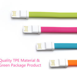Cable USB plat Xiaomi de 20cm ()