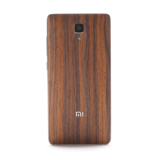 """Xiaomi Mi4 - Coque arrière avec """"effet bois"""" ()"""