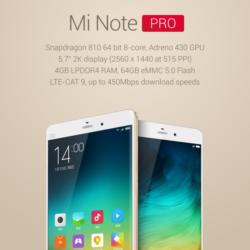 Xiaomi Mi Note Pro: le smartphone le plus puissant du marché. ()