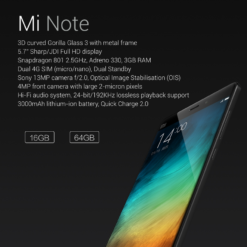 Xiaomi Note Version Black (1)