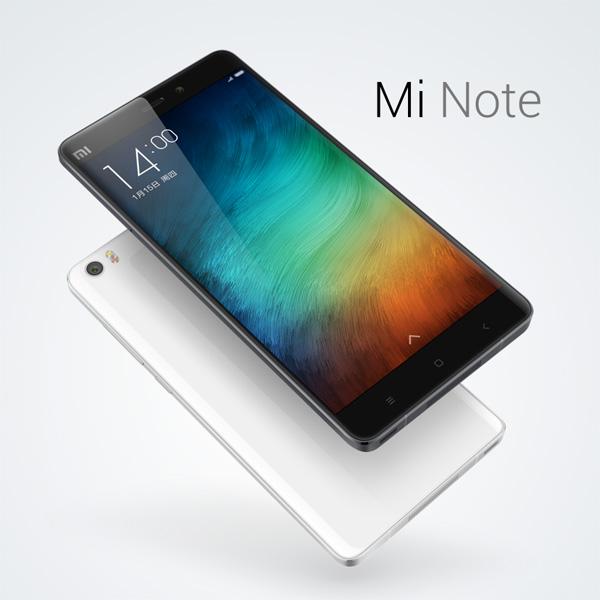 Photo du Xiaomi Mi note
