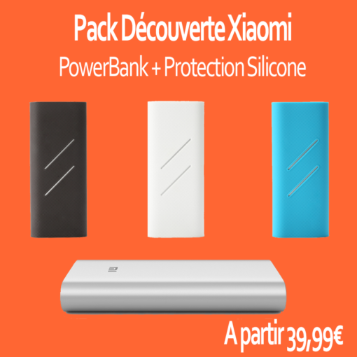 Pack Xiaomi PowerBank 16000mAh + Protection Silicone ()