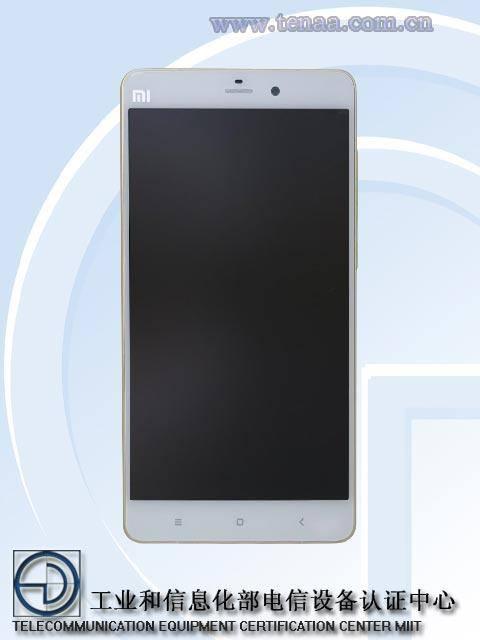 Certification MIIT Xiaomi NOTE PRO (1)