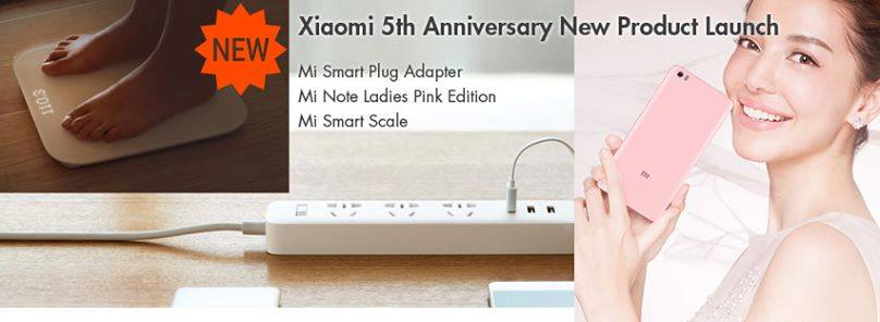 Xiaomi Anniversaire