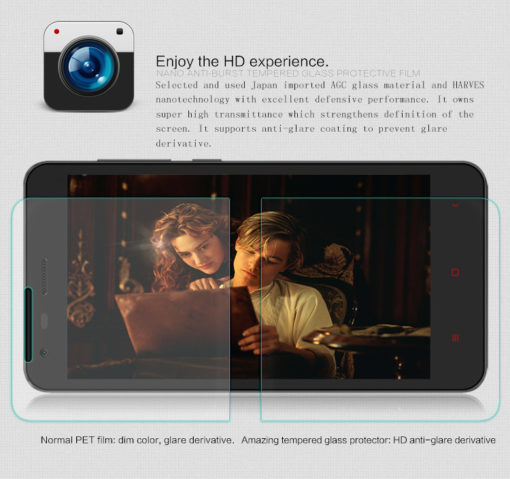 RedMi 2 - Nillkin Amazing H (Protection écran en verre) ()