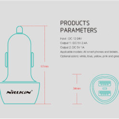 XIAOMI FRANCE - Nillkin Jelly car charger (2)