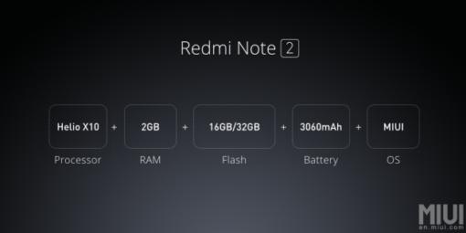 Xiaomi Redmi Note 2 PRIME (Dual SIM 4G) ()