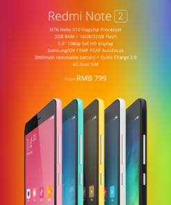 Xiaomi Redmi Note 2 PRIME Dual SIM 4G XiFrance