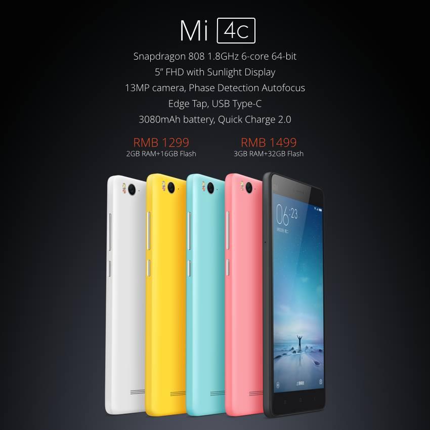 XIFRANCE.COM - Xiaomi Mi4C (1)