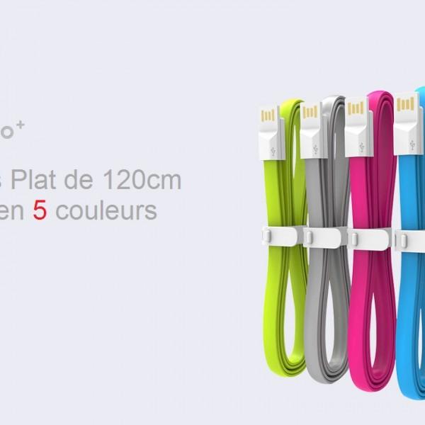 XIFRANCE.COM – Xiaomi-Noodle-Shape-120CM-Colorful-USB-Cable  (2)