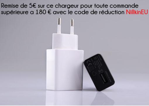Nillkin - Chargeur Rapide compatible pour la France ()