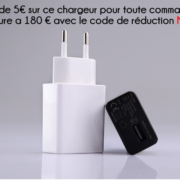 XIAOMI-FRANCE.COM – Chargeur Nillkin Rapide Compatible FRANCE (8)