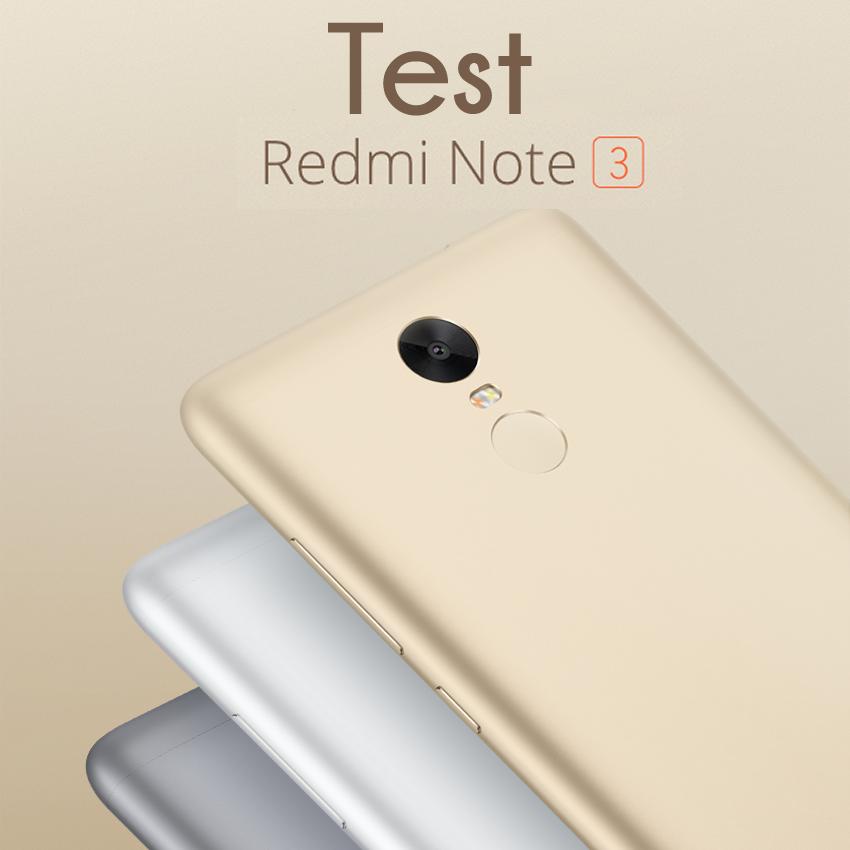 présenation redmi note 3 test