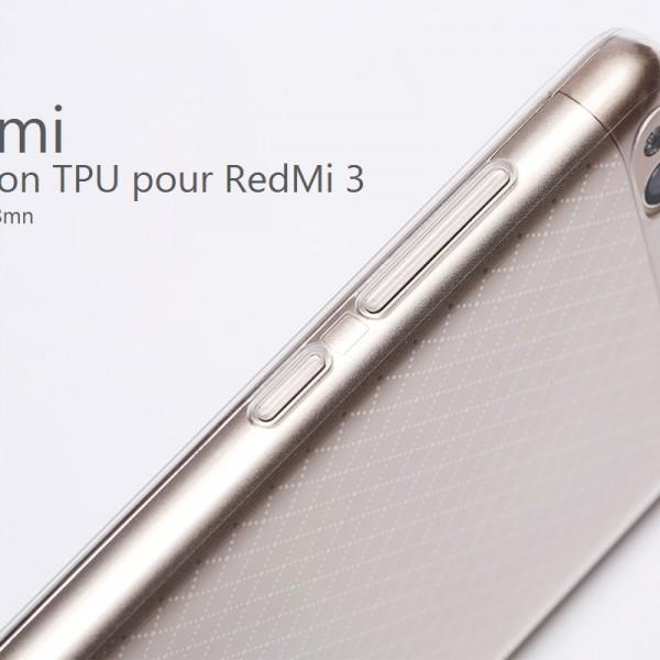 XIFRANCE – Protection TPU pour RedMi 3 (1)