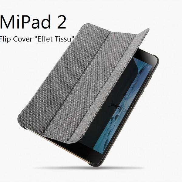 XIFRANCE.COM – Flip Cover Effet Tissé pour XIOAMI MIPAD 2 (0)