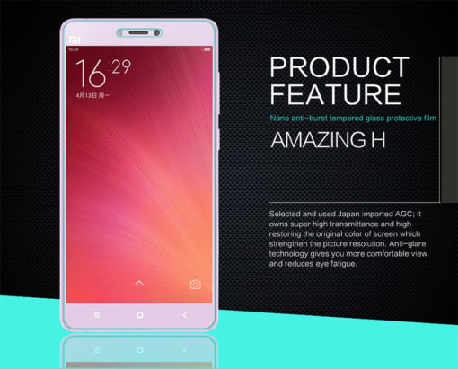 Mi4s - Nillkin Amazing H (Protection écran en verre) ()