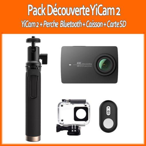 Pack : Xiaomi YI 4K Action Camera (YiCam) ()
