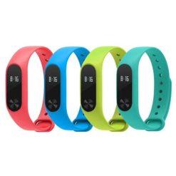 MiBand2 - Bracelet Xiaomi coloré (1)