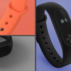 MiBand2 - Bracelet Xiaomi coloré (2)