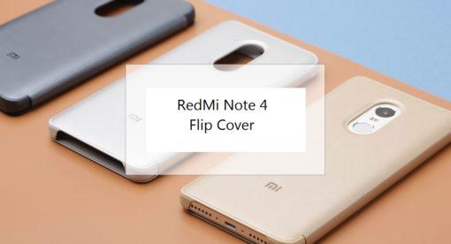 Xiaomi RedMi Note 4 - Flip Cover ()