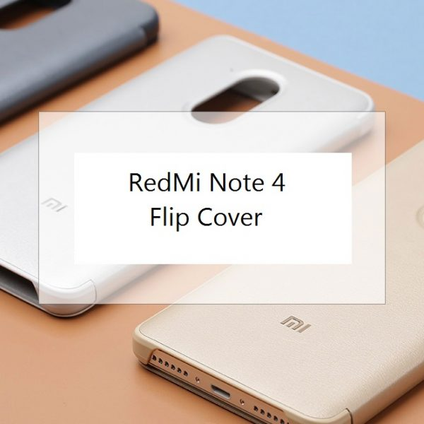 XIFRANCE.COM – Xiaomi RedMi Note 4 – Flip Cover (1)