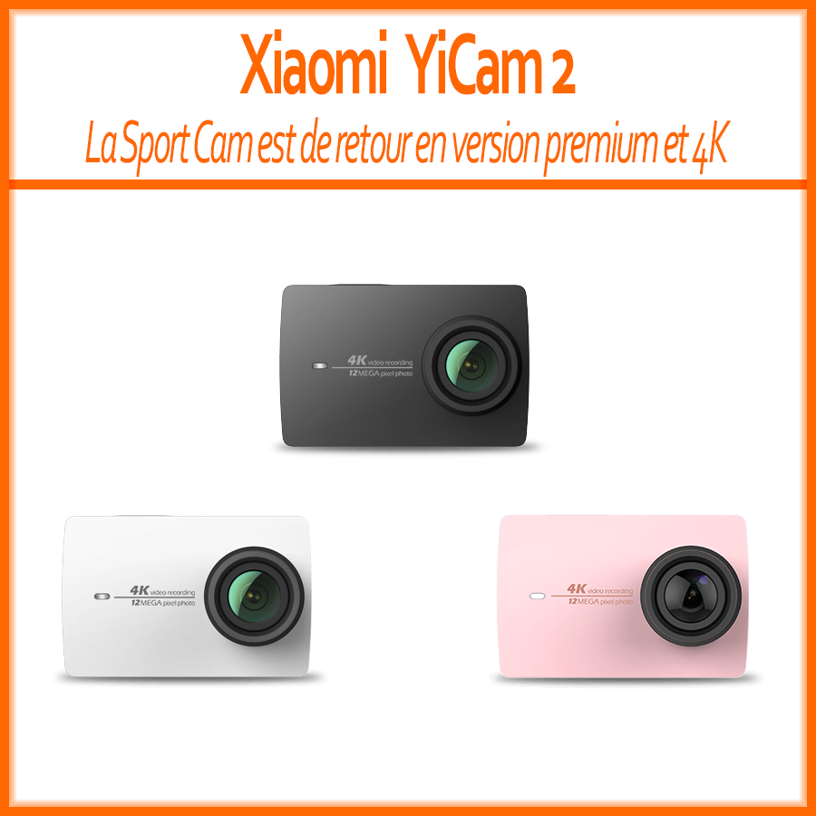 Dispo En France Xiaomi YI 4K Action Camera YiCam