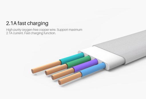 NILLKIN Plus Ⅲ Cable (MicroUSB vers Lightning) ()