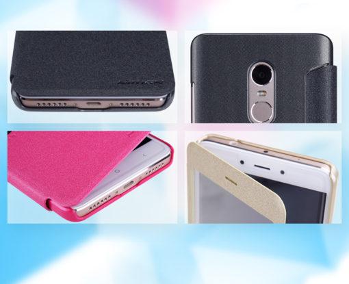 RedMi Note 4 / 4X - Nillkin SPARKLE (Flip Cover) ()