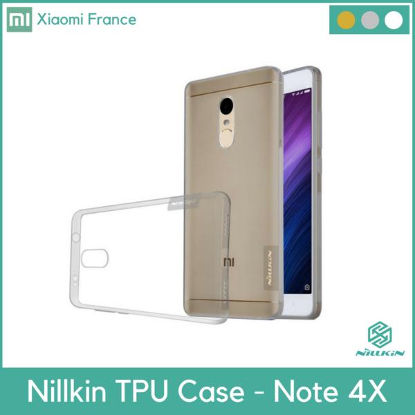 XIFRANCE.COM – Xiaomi Note 4X Nillkin TPU Nature