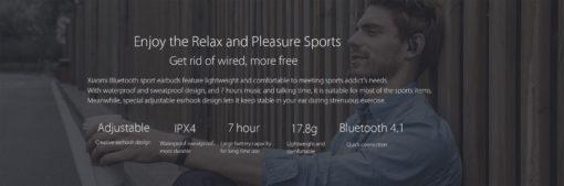 Xiaomi écouteurs sans fil (Music Sport Earbuds Wireless) ()