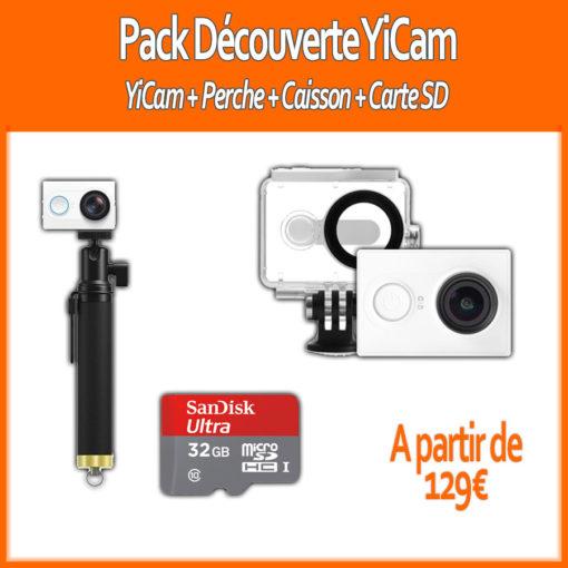 Pack 2017 : Xiaomi YiCam (Perche, Caisson, Carte SD) ()