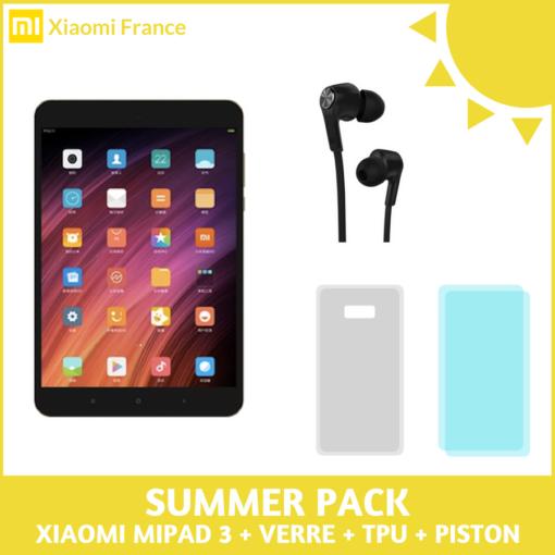 Pack 2018: Xiaomi MiPad 3 (Verre + TPU + Piston) ()