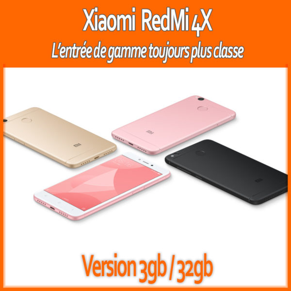 2017_RedMi4X_32GB