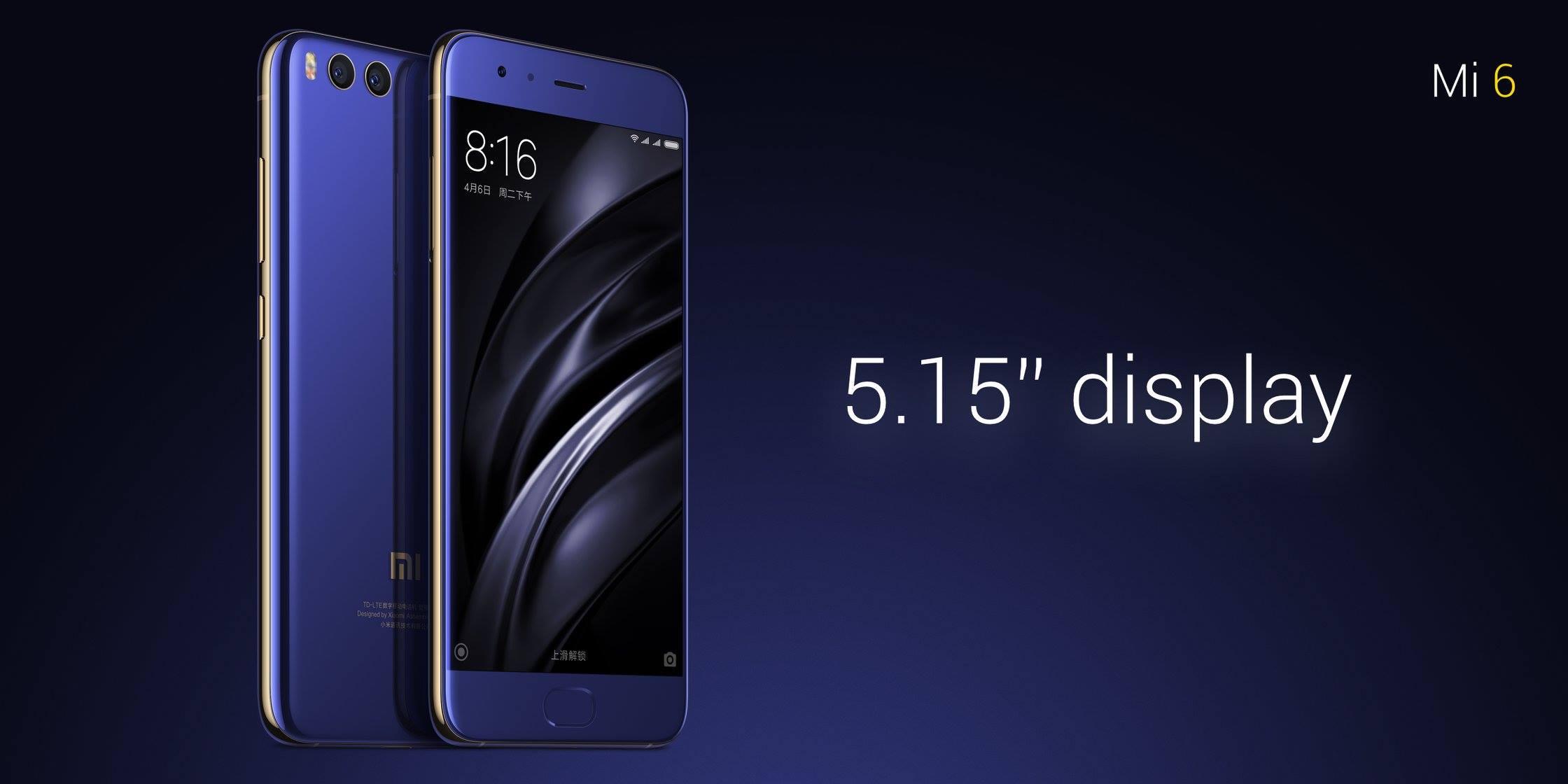 En direct, présentation du Xiaomi Mi6 ()
