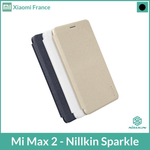Mi Max 2 - Nillkin SPARKLE (Flip Cover) ()