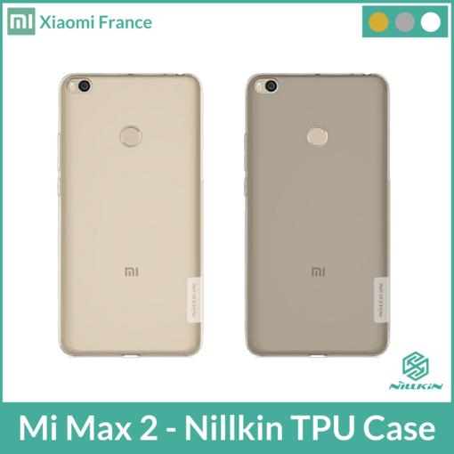 Mi Max 2 - Nillkin TPU Case (Coque de Protection) ()