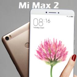 Mi Max 2: De nouvelles fuites et une date! ()