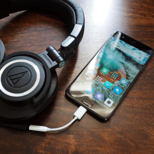 Xiaomi - Adaptateur prise jack vers Type-C ()