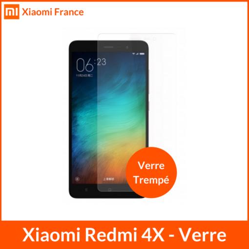Xiaomi RedMi 4X - Protection écran (Verre trempé) ()