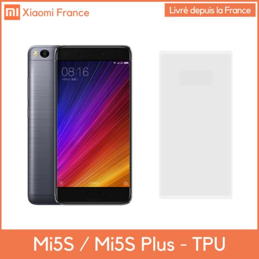 Xiaomi Mi5s et Mi5s Plus - Protection TPU (En France) ()