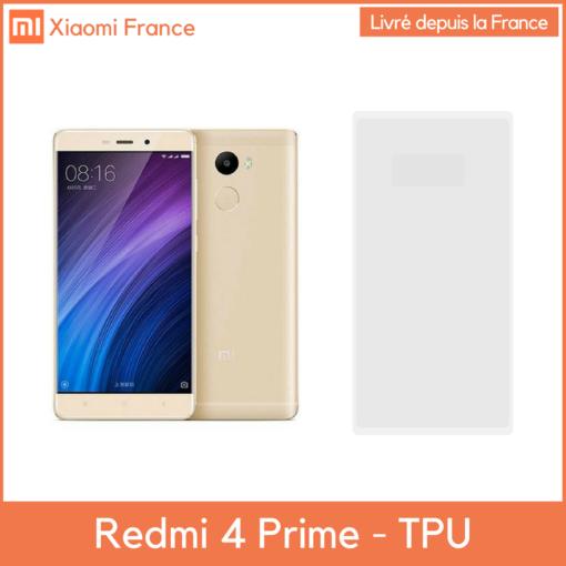 Xiaomi RedMi 4 Prime - Protection TPU (En France) ()