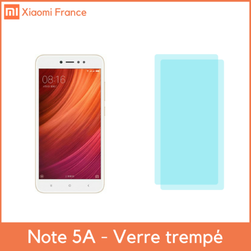 Xiaomi RedMi Note 5A - Protection écran (Verre trempé) ()