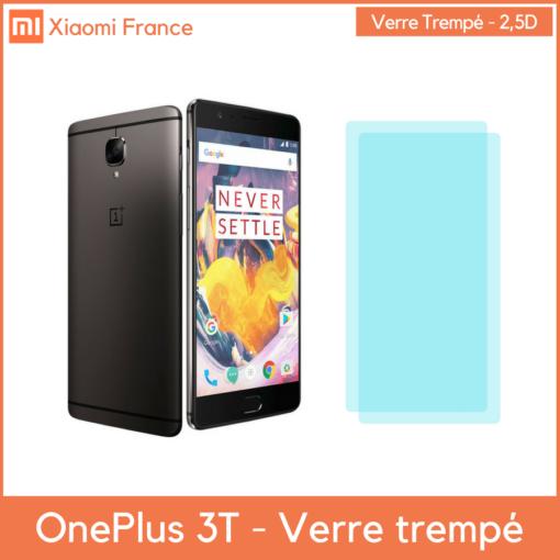 OnePlus 3T - Verre trempé 2,5D (En France) ()