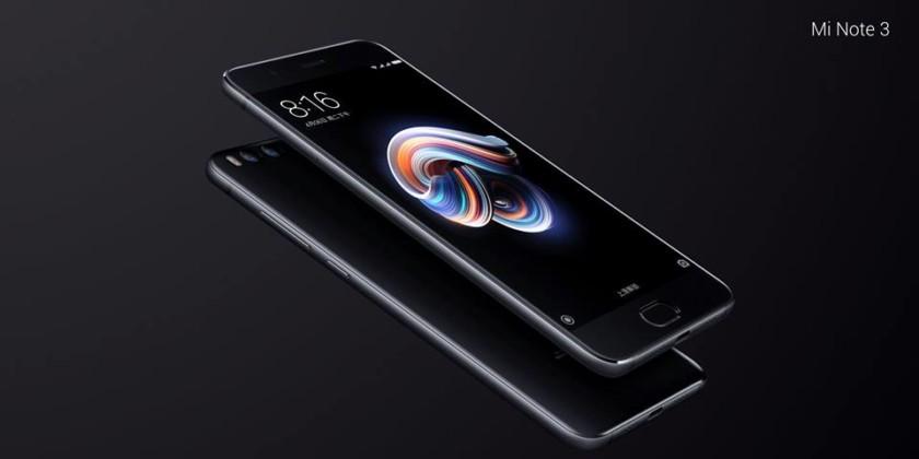 Tout sur le Xiaomi Mi Note 3 ! ()