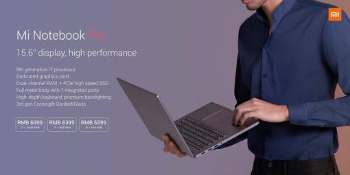Xiaomi Mi Notebook PRO GTX (15.6″ pouces) ()