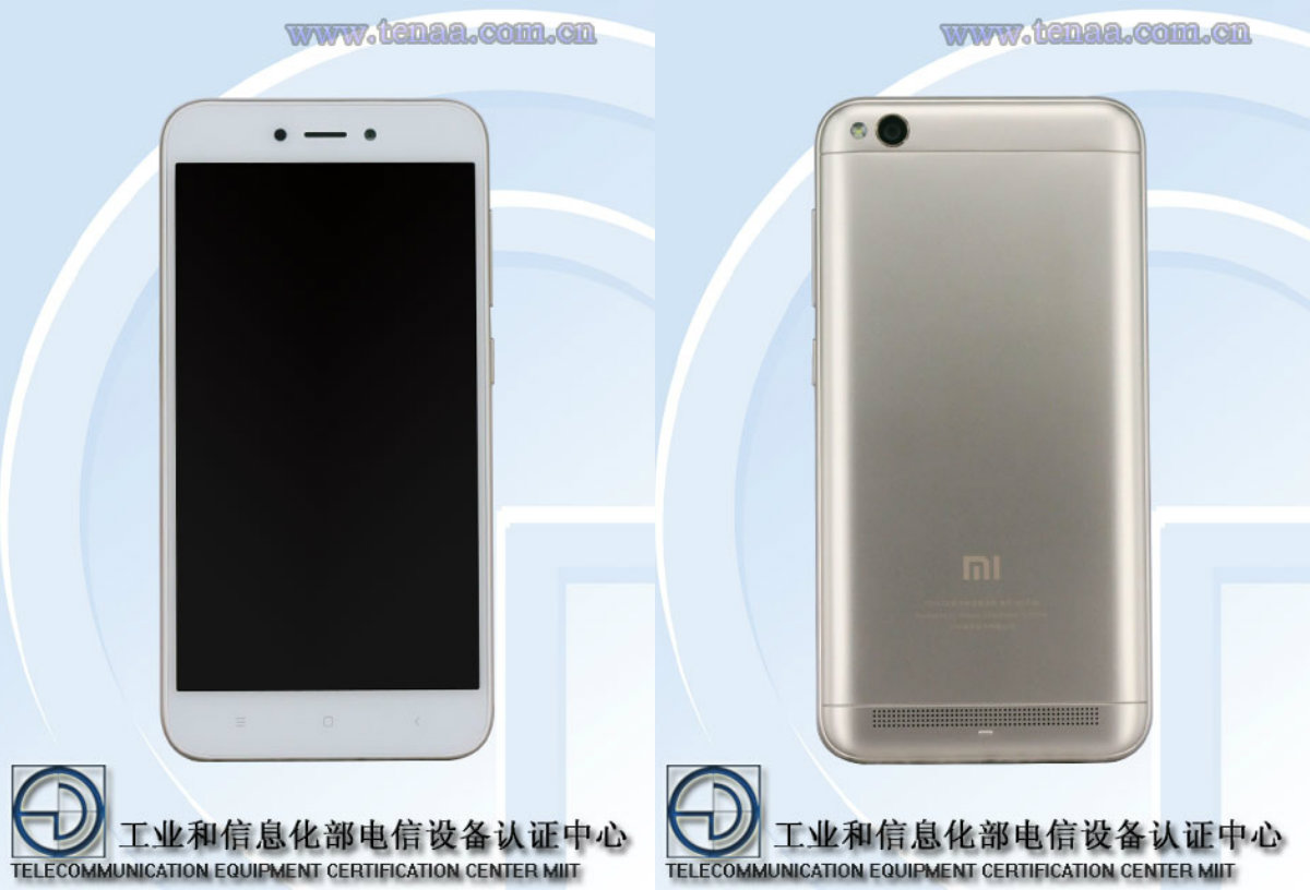 Xiaomi Redmi 5a Ses Caract 233 Ristiques Et Son Design Ont