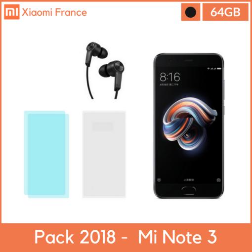 Pack 2018: Xiaomi Mi Note 3 (Verre + TPU + Piston) ()