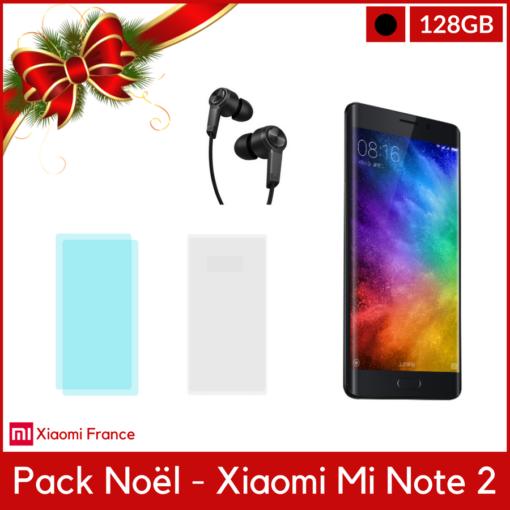 Pack Noël: Xiaomi Mi Note 2 Global (Verre + TPU + Piston) ()